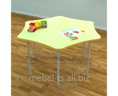 Столик детский шестиместный