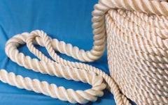 Rope polyamide kapron self-produced