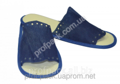 Disposable slippers, trousers, blue, 1 pair/Pack