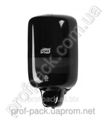 Dispenser for liquid soap Tork Elevation, black,
