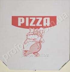 Box for pizza, 450kh450mm, 20sht/unitary