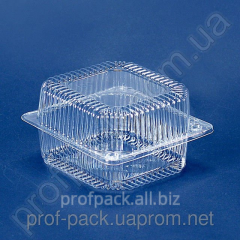Package PS-100 polystyrene with cover, 910 ml,
