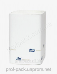 Doily made, 21, 6h16, 5 cm, 2-layer white, Tork,