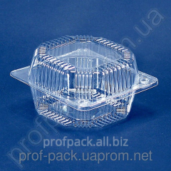 PS-7 packaging made of polystyrene with cover, 560