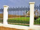 Fences and lattices.