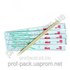 Bamboo chopsticks in the individividual′noj