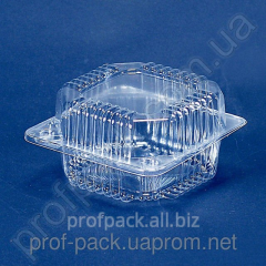 Packaging of PS-8 from polystyrene with the cover,