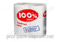 Туалетная бумага мини рулон, на гильзе 2-х