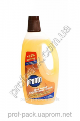 Detergent for cleaning of laminate and parquet