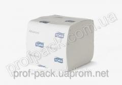 Туалетная бумага листовая Tork Advanced, 2-х