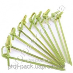 Bamboo sticks with both 9 cm, 100/Pack