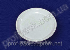 Bread and butter plate, disposable, white, 160 mm,