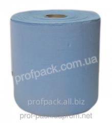 Protirochny paper of blue color, 2-layer, 26 cm,