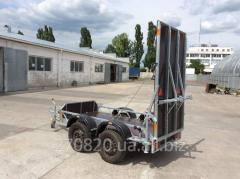 Прицеп-платформа-эвакуатор 2-х осный