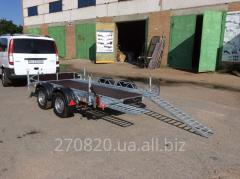 Прицеп-платформа для перевозки квадроциклов