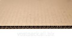 Corrugated cardboard five-layer shee