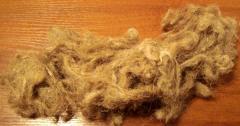 Tow construction (flax fiber short)