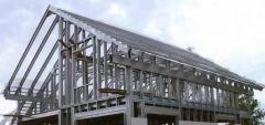 Конструкции легкие стальные тонкостенные  (ЛСТК)