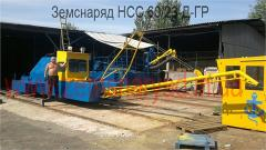 The NSS 60/23-D-GR dredge available in warehouse