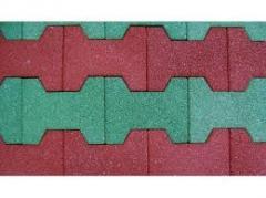 Продажа тротуарная плитка резиновая