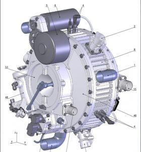 Двигатель авиационный поршневой DD-3
