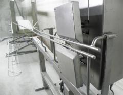 Kuş kesimi için makine ve donatımlar
