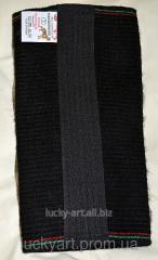 Inan kneecap from dog wool No. 1