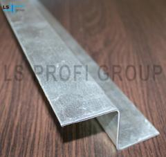 Galvanized steel Z profile