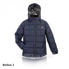 Куртка Кубик для мальчика, синяя