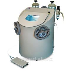 Sandblasting dental apparatus