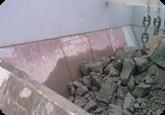 Футеровочные секции для бункеров из износостойкого