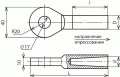 Clip the grounding ZPS-50-3V