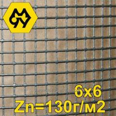 Grid 6,35 x 6,35 x 0,9 mm welded zinced with the