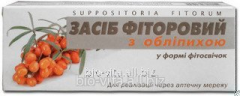 Fitosvechi fitorovye with sea buckthorn (Fitorovye candles). Funds based PHYTORIA