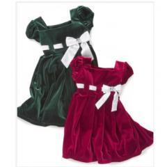 ПЛАТЬЕ SWEET HEART ROSE BABY GIRL VELOUR DRESS