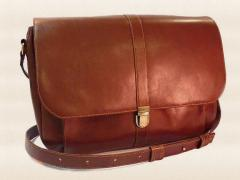 Bags leather from the designer Artemy Pavlov