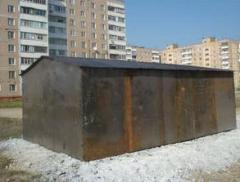 Металлические разборные гаражи-1, 5мм