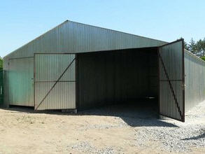 Hangars from an easy metalwork