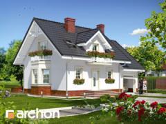 Типовые проекты домов -Дом в рододендронах 15