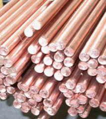 Bars copper M1,M2 ot4mm to 220 mm
