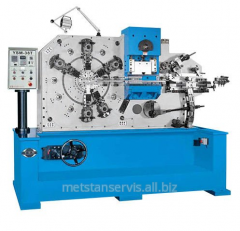 The automatic machine for are flexible a wire and