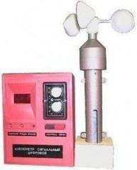 Anemometer alarm digital