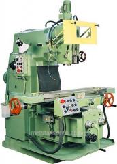 Vertically milling machine 6T12F1 with UTsI