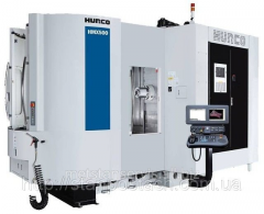 The horizontal processing Hurco HMX centers a