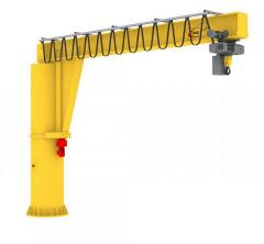 Crane of console rotary 2