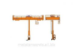 The pavement crane piler the basic electric OK-1