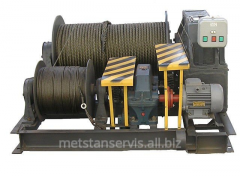 Winch electric special shunting LEM-10