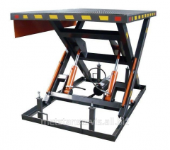 Lifting table of 3