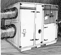 Rotor dehumidifiers of air
