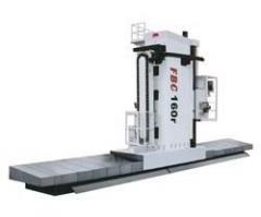 The milling and boring machine with ChPU of floor